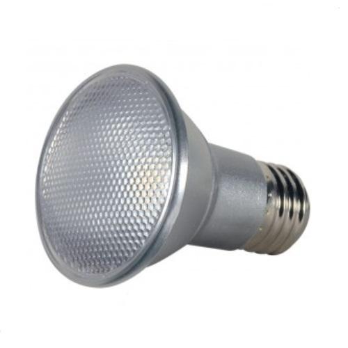 7W LED PAR20 Bulb, Dimmable, 2700K, Silver