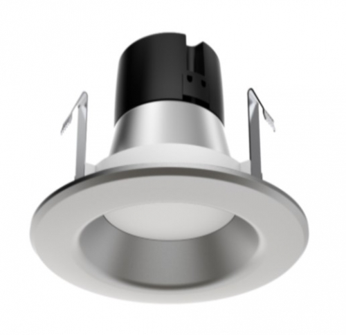 Satco 9 5w 4 Led Recessed Retrofit Downlight Dimmable 3000k Brushed Nickel