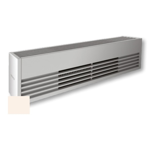 4000W Architectural Baseboard Heater, 500W/Ft, 480V, Soft White