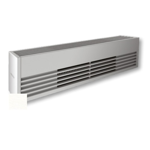 4000W Architectural Baseboard Heater, 500W/Ft, 480V, White