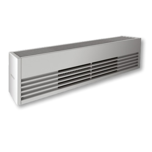 4000W Architectural Baseboard Heater, 500W/Ft, 208V, Anodized Aluminum