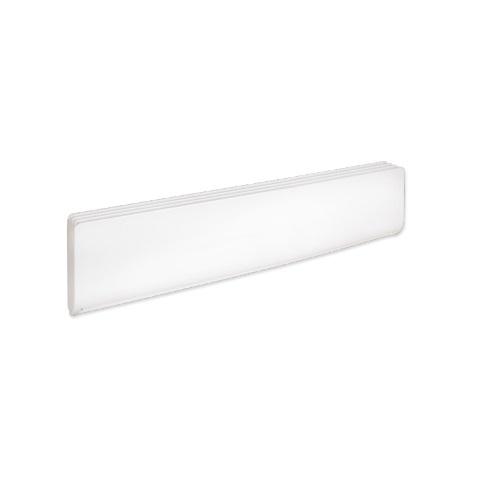 2000W Bella Baseboard Heater, 250W/Sq Ft, 208V, White