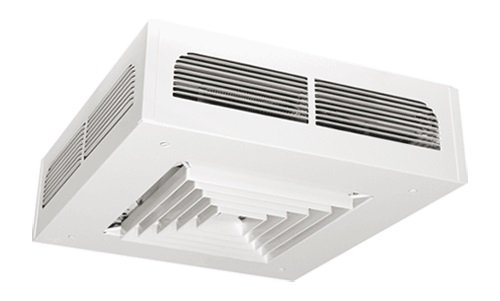 2000W Dragon ADR-I Ceiling Fan Heater, 240 V, Thermostat, Silica White