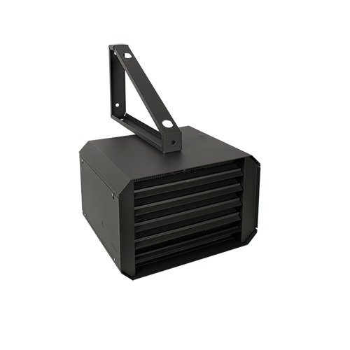 7500W 277V Commercial Industrial Unit Heater, Thermostat, 1-Phase Black