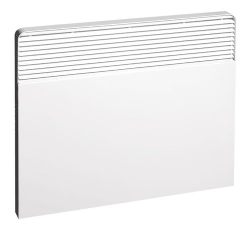 1000W Silhouette Convection Heater, 240 V, Programmable Thermostat, Stainless Steel