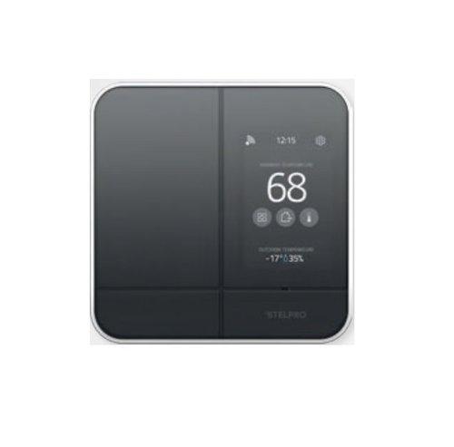 Smart Programmable Wifi Thermostat w/Zigbee Control 240V, Black