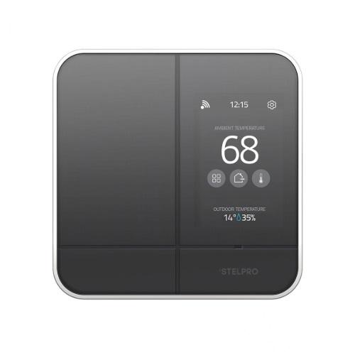 Maestro Zigbee Smart Programmable Thermostat, Black