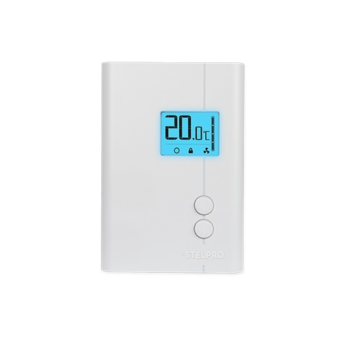24V Electronic Thermostat, Programmable, White, Pack of 10
