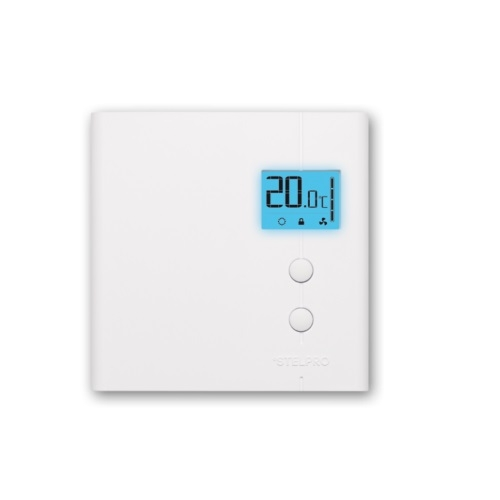 5750W Electronic Thermostat, 347V, White, Pack of 24