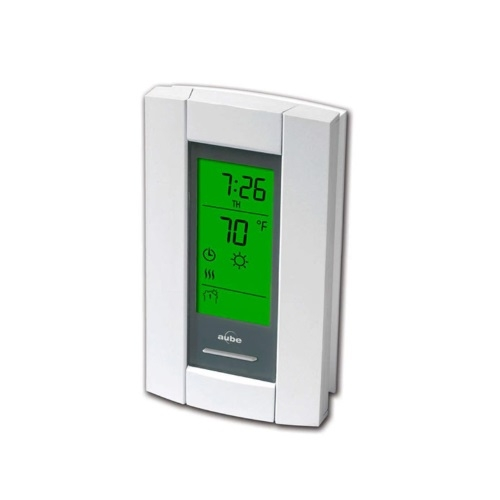 12V Master Thermostat for Floor Heating Cables, 15 Amp, White