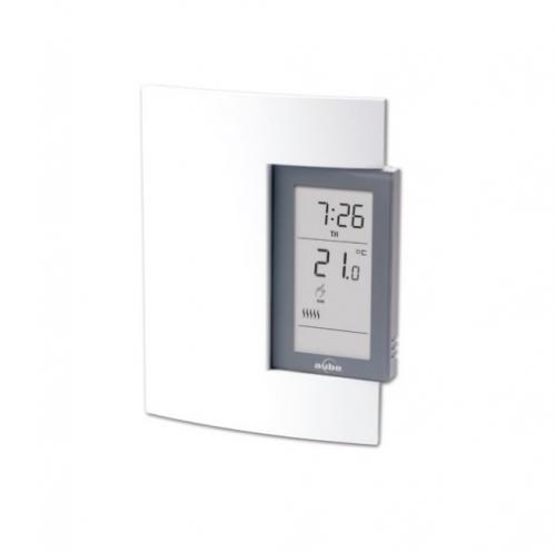5 Amp Line & Low Voltage Electronic Thermostat, Programmable, 24V-240V