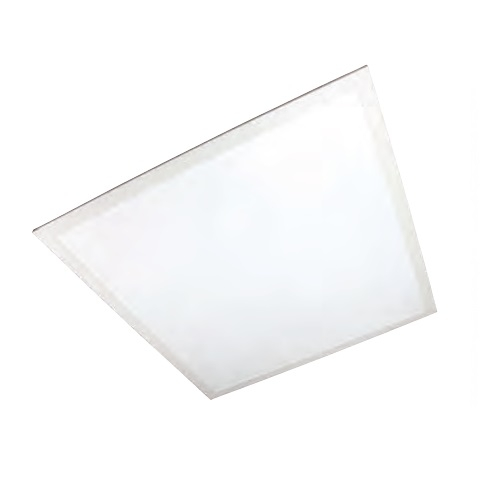 38W 2x2-ft LED Troffer Panel w/Back Light, Dimmable, 4200 Lumens, 3000K, Frosted