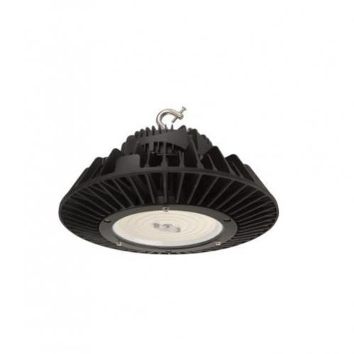 100W LED Round High Bay Luminaire, Dimmable, 200V-480V, 15000 lm, 5000K
