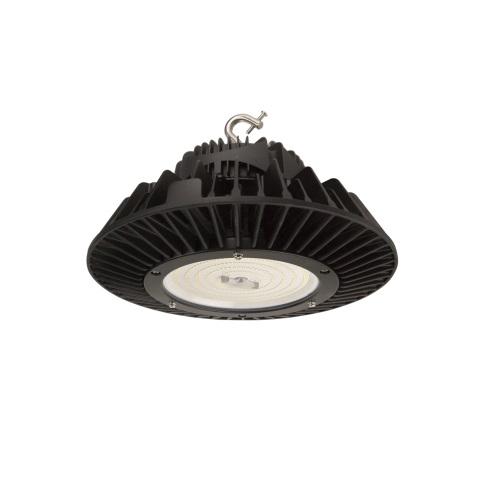 100W LED Round High Bay Luminaire, Dimmable, 120V-277V, 15000 lm, 4000K