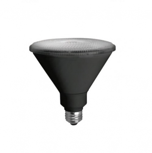 29W LED Flood Light PAR38 Bulb, 3000K, Black