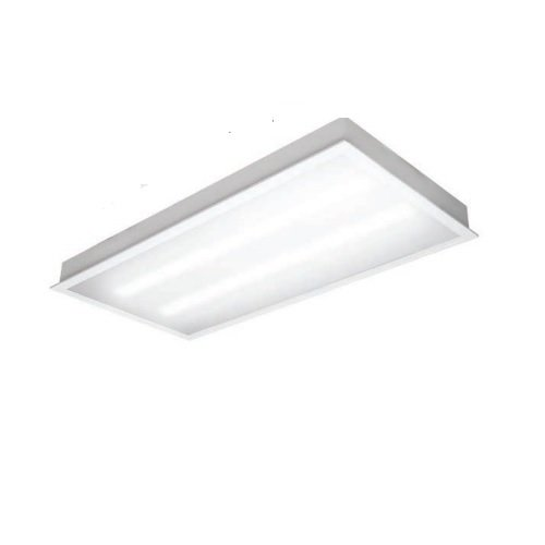 TCP Lighting 45W 2X4 LED Recessed Troffer Light, Dimmable, 4100K ...