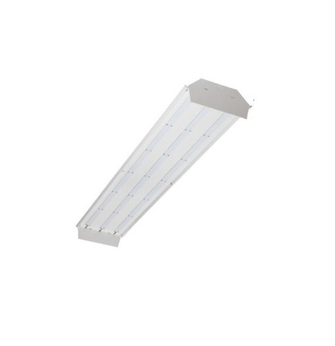 TCP Lighting 104W 4-ft LED Low Bay Light Fixture, Dimmable, 4100K ...