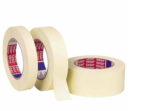 Tesa Tapes 50124-00004-00 60 Yard 3/4 Inch Wide Natural General Purpose Masking Tape