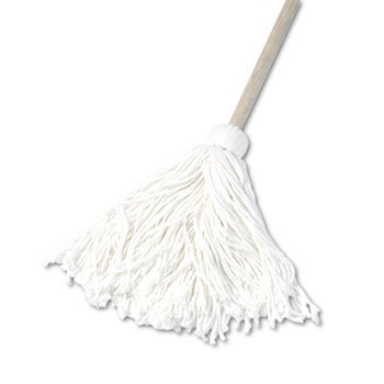 Deck 16 oz. Rayon Fiber Mop Head w/ Wooden Handle