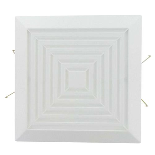 Square Grille Assembly Replacement Part for Bath Fans