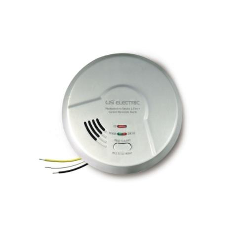 Photoelectric Smoke & Carbon Monoxide Alarm, Hardwired