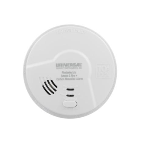 Photoelectric Smoke & Carbon Monoxide Alarm, Sealed Battery