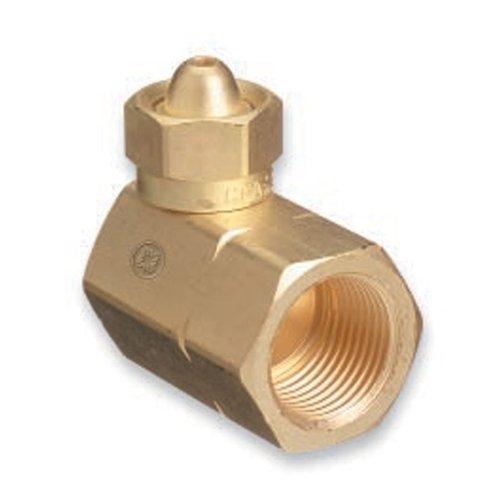 "CGA-200 ""MC"" Acetylene Brass Cylinder Adaptor"