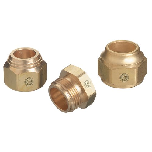 Brass Male Hex Shaped Torch Tip Nut Replacement