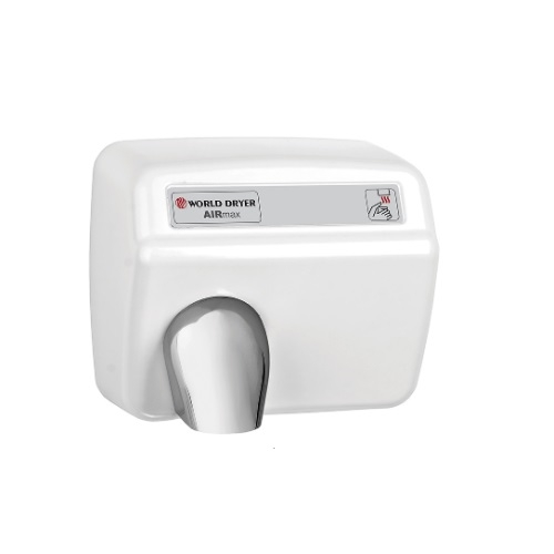 2300W AirMax Hand Dryer, Automatic, 115V, Stamped Steel, White Finish