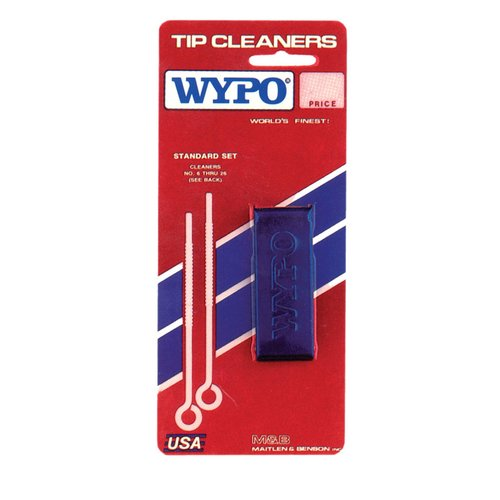 Size 6 - 45 Stainless Steel Tip Cleaner Kit