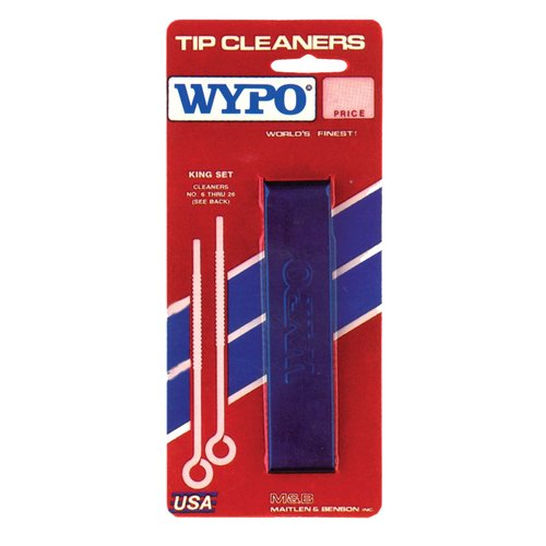 Size 6-24 Stainless Steel Tip Cleaner Kit