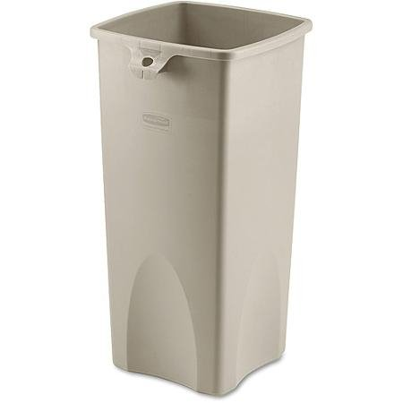 Untouchable Beige 23 Gal Square Container