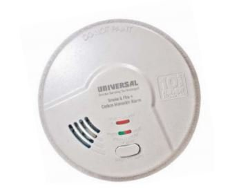 3-in-1 Smoke, Fire, & CO Smart Alarm, Sealed Battery
