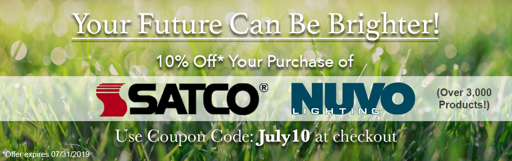 July sale of Satco and Nuvo