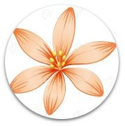 orange flower petal for equity living building challenge