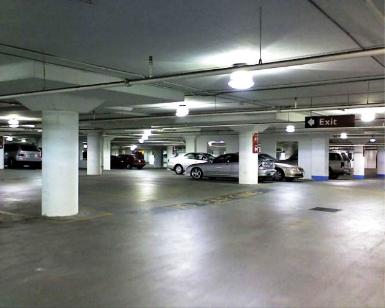 parking garage LED low bay light fixtures