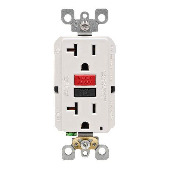 self testing gfci electrical outlet