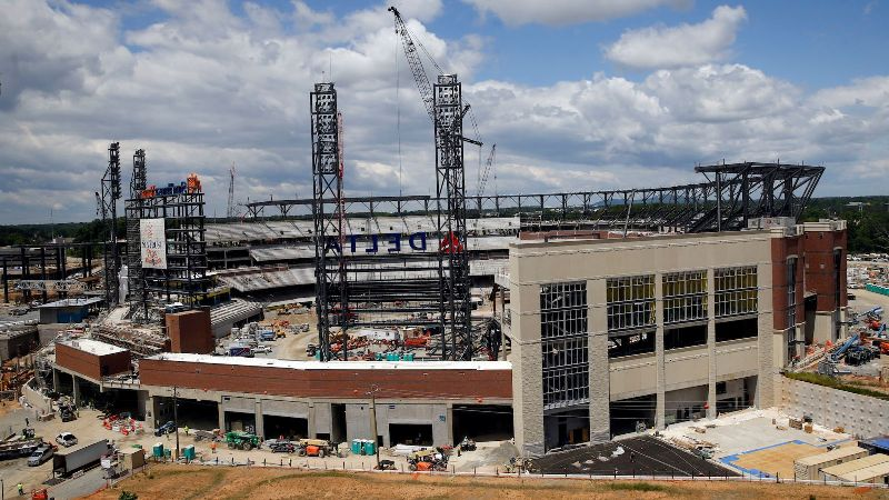 SunTrust Park Braves Stadium construction development