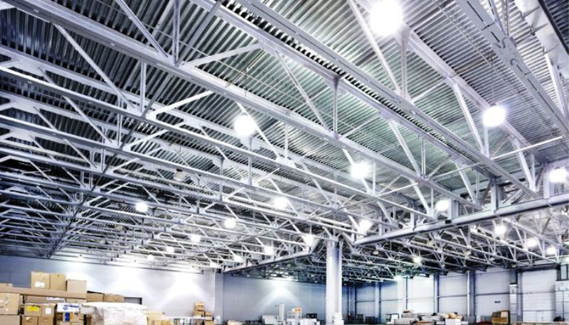 warehouse LED low bay lighting