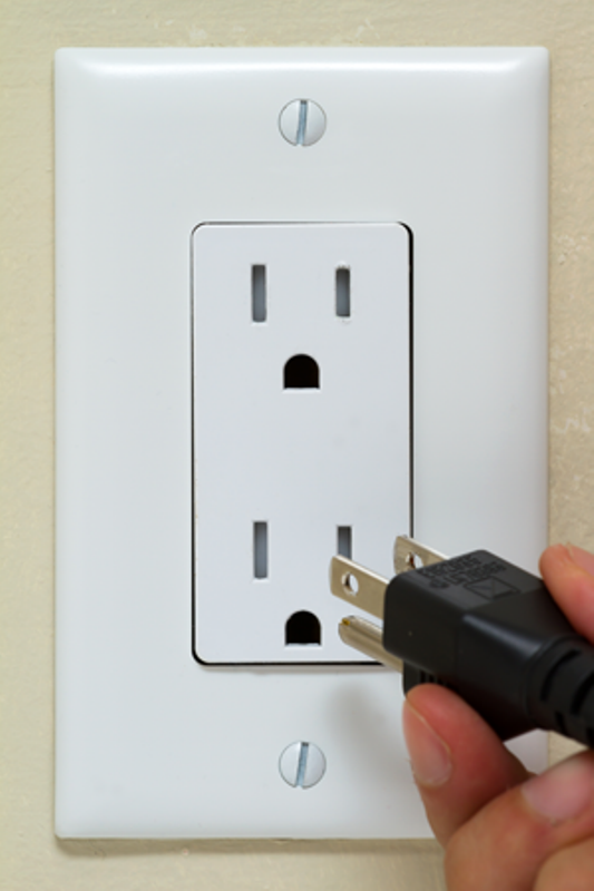 3 prong electrical receptacle