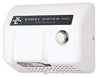 Push-button hand dryer