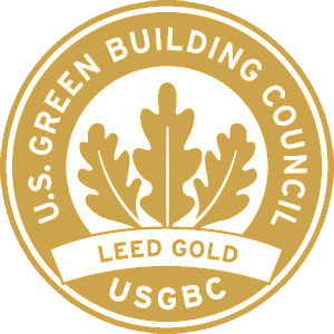 gold LEED certification rating level