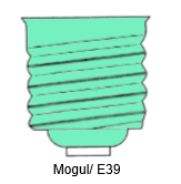 E39 Mogul screw base