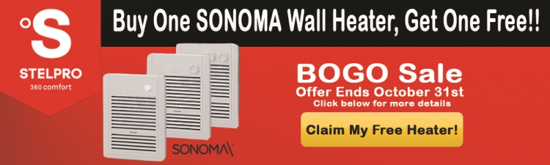 Sanoma wall heater promotion details