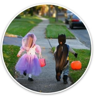 Halloween safety stay with your kids