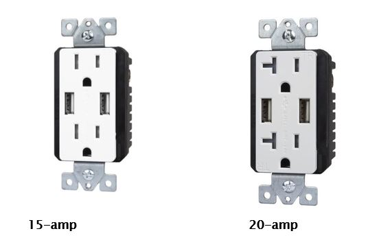choosing the right usb charger outlet homelectrical com