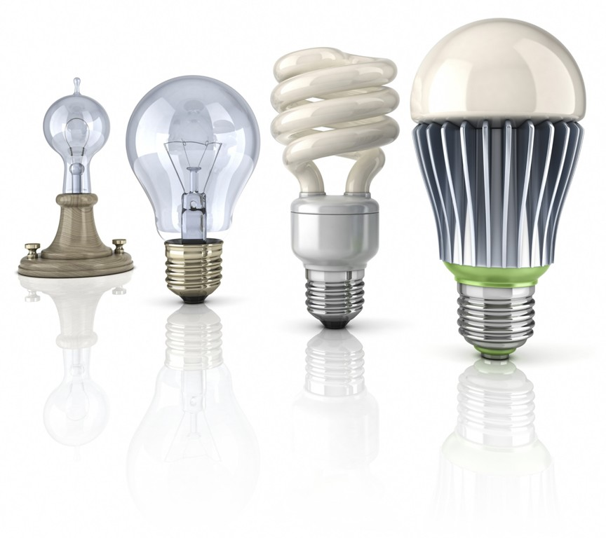 LED light bulbs header