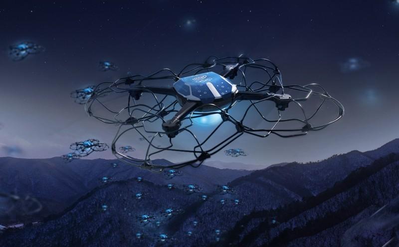 winter Olympics Intel drone