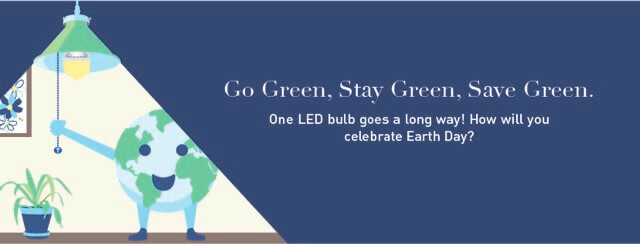 Go green. Stay Green. Save Green.