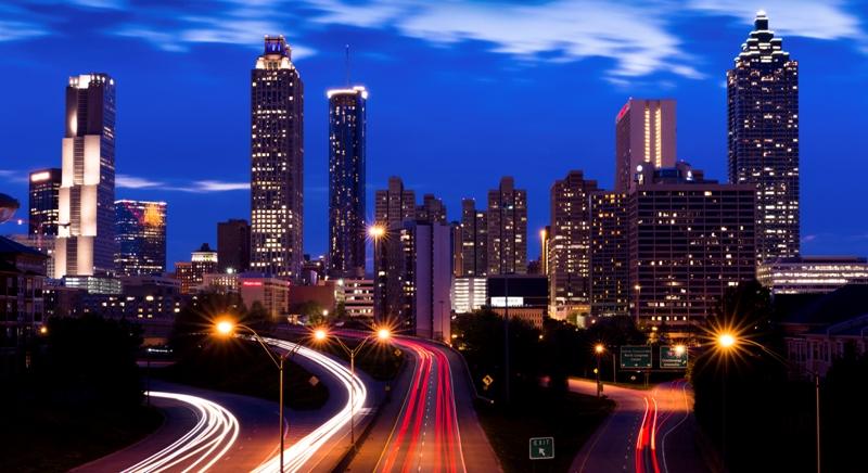 Atlanta installs LED street lights
